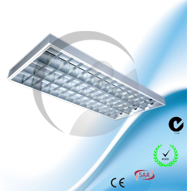 Surface Mounted T8 Grill light fitting Triple Tube